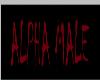 Alpha Male sticker