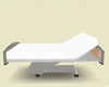 poseless hospital bed