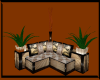 {AWR} Tan Corner Couch