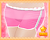 *Y* Pink Mini Shorts