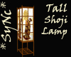 *Sync Tall Shoji Lamp