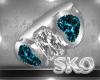 *SK*Lush Teal E.Ring