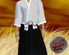 Samurai Outfit Whi&Blk