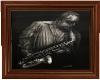 Bronze Jazzplayer pictur