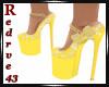 Bea Floral Lemon Shoes