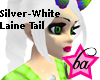 (BA) Silver-White LaineT