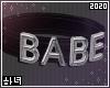 3D Choker | Babe