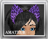 Leopard Ears !Purple