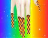 clownish nails