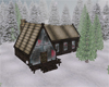 Winter rustic cabin 2015