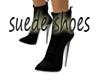 suede shoes black