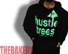 Blk HustleTrees Pullover