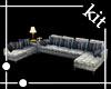 [kit]Fabric Sofa