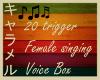 !K Female Singing VB
