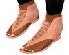 Tied Open Shoe