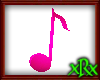 Music Note 1 Pink