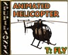 BROWN ANIM. HELICOPTER