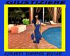 GIUSTI DRESS BLUE
