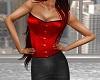 Vanda Corset - Rich Red