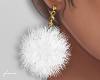 f. white fur earrings v2