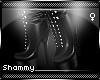 ☠ Militia Boots Black