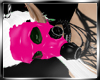 J- Pink Rubber Gas Mask