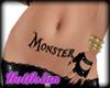 HA23 Monster Body Tattoo