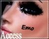 A. Emo Face Tattoo