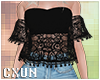 Off Shoulders Lace Top B