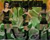 [FCS] Green Blk Velvet