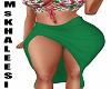 [MsK] Tropic Skirt RL