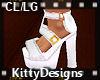 *KD CL Snowwhite sandal