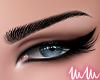 mm. KD Eyebrows Black