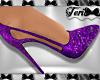 Purple Sparkle Heels