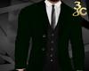 Green 3 piece suit