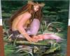 mermaid and baby
