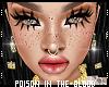 ** Freckles+Eyeliner+Lip