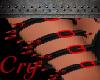R Bloody Spike Armband