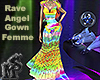 Rave Angel Gown Femme
