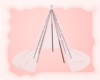 A: Blush sheer teepee