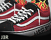® Skate Red Flame