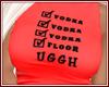 Vodka Red T Shirt