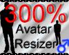 *M* Avatar Scaler 300%