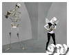 Skeleton Saxophone