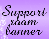 | New Support Banner |