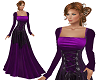 TF* Royal Purple Gown