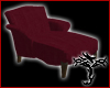 [T] Burgandy Chaise