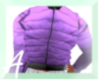 Purple Fitted Coat