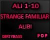 ALI Alibi - Strange Fam