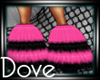 DC! Rave Boots Pink Blk